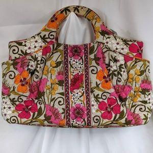 Vera Bradley Tea Garden Floral Handbag